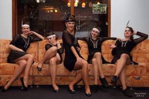 Roztančené Victorky na Černobílém plese