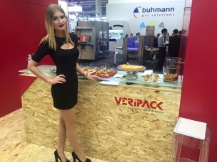 Hostess for IFFA Frankfurt