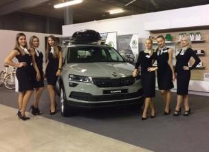 Victorky na akci Škoda - After sales conference