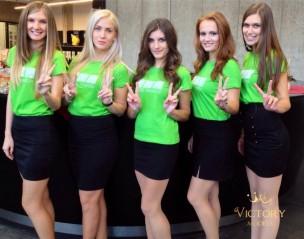 Hostesky na výroční akci firmy Biocel Paskov