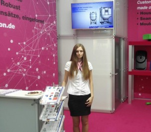 Hostess for IFAT Munich