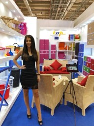Hostess for AMBIENTE in Frankfurt