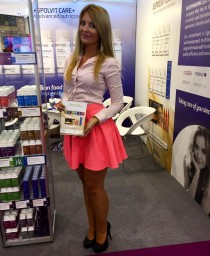 Hostess for Vitafoods in Geneva