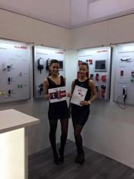 Hostess for AMPER in Brno