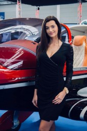 Hostess and Models for AERO in Friedrichshafen
