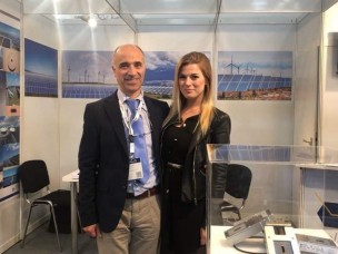 Hostess for Intersolar Munich