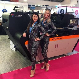 Hostess and Model for FESPA