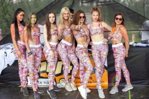 Hostesky na Rainbow Run Ostrava