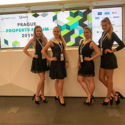 English speaking hostess for Prague Property Forum