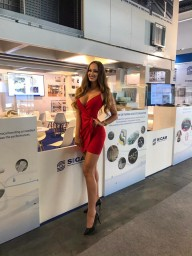 Hostess and Model for ITMA Barcelona