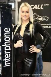 Naše krásné modelky na Motosaloně