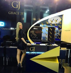 Hostess for EBACE Geneva