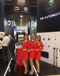 Hostess for Intersec in Dubai
