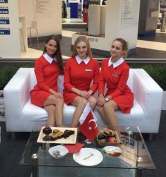 Hostess for InnoTrans