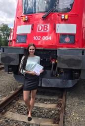 Hostesky na veletrhu Czech Raildays v Ostravě
