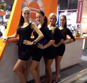 Naše krásky na veletrhu MSV Brno
