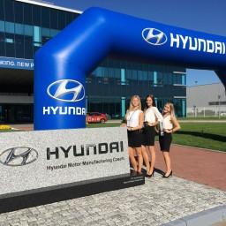 Hostesky na firemní akci Hyundai